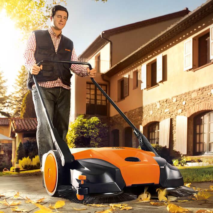 Stihl Sweeper - lifestyle image
