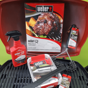 Weber Baby Q Kickstarter Pack - contents in description