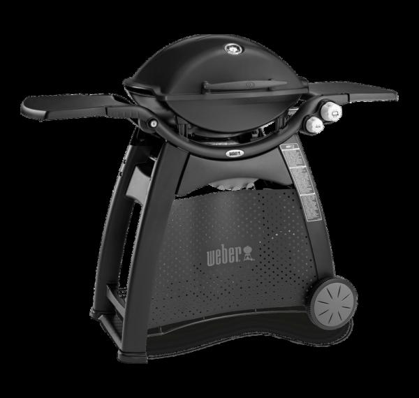 Weber Family Q (Q3200) Black - side