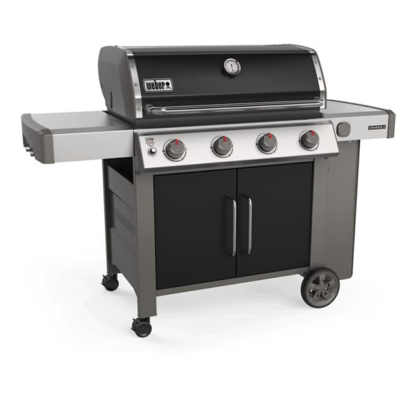 Weber Genesis II E-455 Gas Barbecue - side