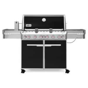 Weber Summit E-670 Gas Barbecue - front