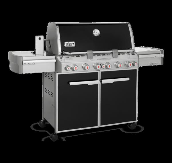 Weber Summit E-670 Gas Barbecue - side