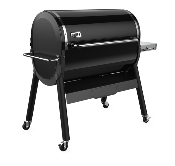 Weber SmokeFIre Ex6 left side