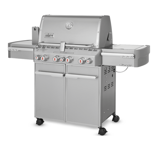 Weber Summit S-470 right side